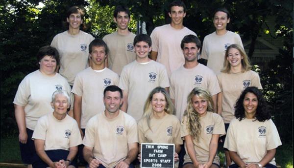 Sports staff group photo